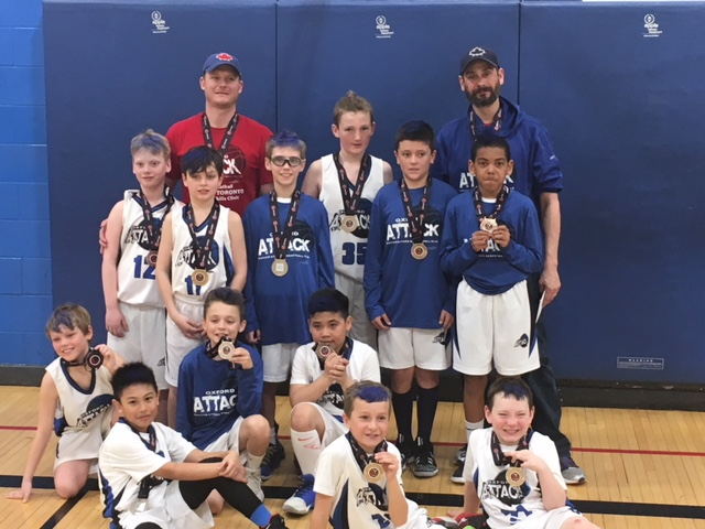 U11 Atom Boys Win Silver at 2018 OBA's!